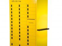 Fahrbarer Postfachschrank Typ 1408 3er