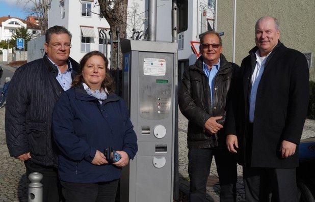 Neue Parkautomaten für die Stadt Grafenau